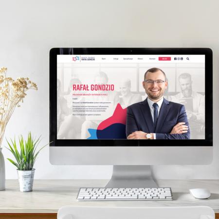 Identyfikacja i strona internetowa dla prawnika – Rafał Gondzio
